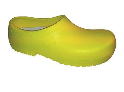 OBvuFszvHr Unisex-Erwachsene Professional Super Birki Clogs, Gelb (yellow), 42 Eu