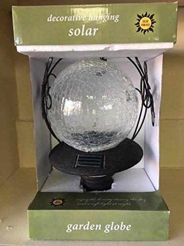 Hanging Solar Garden Globe - Clear