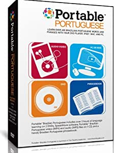 Portable Portuguese for DVD, iPod, Mac & PC. Learn Portuguese Anywhere Anytime.
