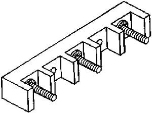 Whirlpool W8203546 Range Terminal Block Genuine Original Equipment Manufacturer (OEM) Part