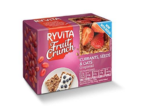 Ryvita Whole Grain Rye and Oat Bran Crispbread - Cracker, 8.8 Ounce - 10 per case.