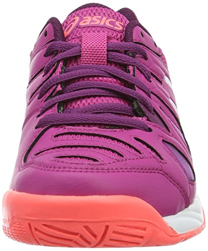 Asics Kinder-Unisex Gel-Game 5 Gs Gymnastik Rosa (Berry/White/Plum)