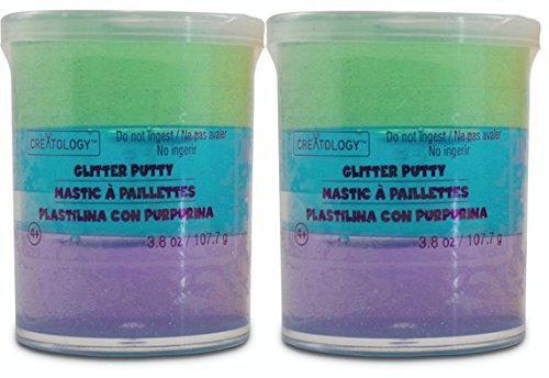 Original Glitter Putty Multi-Pack by Creatology - Green, Blue, Purple (Blue Glitter Play Dough compare prices)