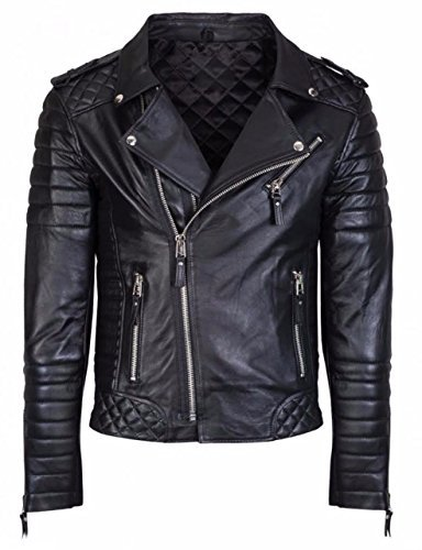 Mens Genuine Leather Jacket Slim FIT Real Biker New for sale  Delivered anywhere in USA