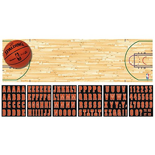 (Giant Spalding Basketball Personalized Banner)