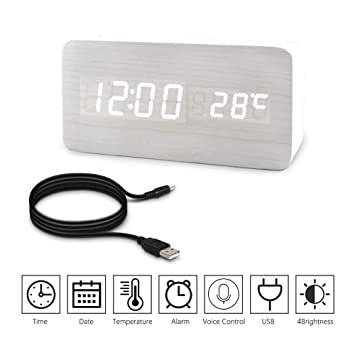 Amazon.com: OuLi Store - Reloj despertador digital de mesa ...
