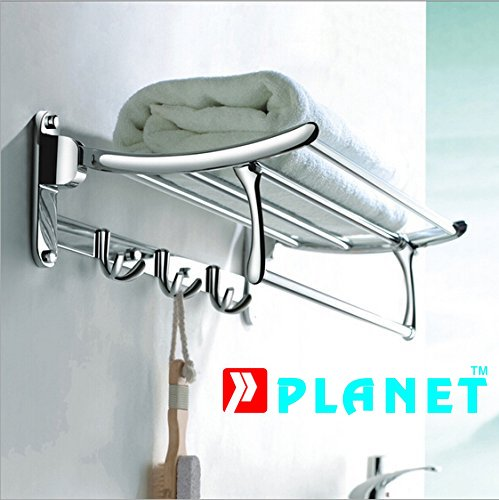 Planet Platinum High Grade Stainless Steel Folding Towe