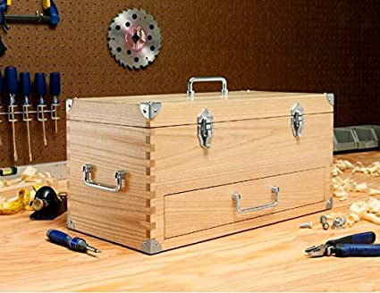 Wooden Toolbox Amazon Com