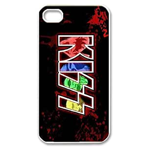 LIUMINGGUANG Phone case Style-2 -Music Band KISS band Pattern Protective Case For Iphone 4 4S case cover