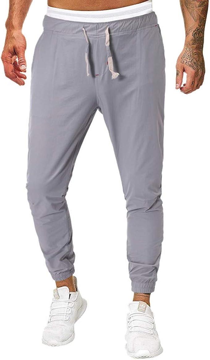 Pantalones de Fitness para Hombre Pantalones Deporte Hombre ...