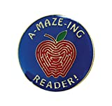 Pack of 250 A-Maze-ing Reader Lapel Pins