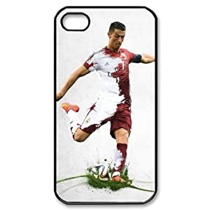 Cristiano ronaldo B-V-W8018260 Iphone 4,4S Phone Back Case DIY Art Print Design Hard Shell Protection