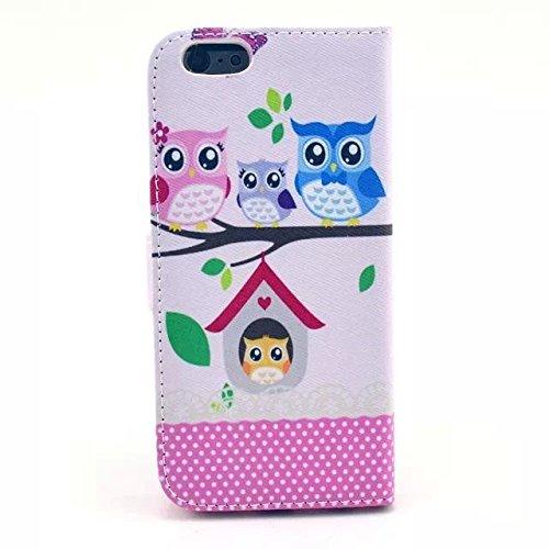 Monkey Cases® iPhone 6 Plus 5,5 Zoll - Flip Case - EULEN - cover - Matt - Premium - original - neu - Tasche #5