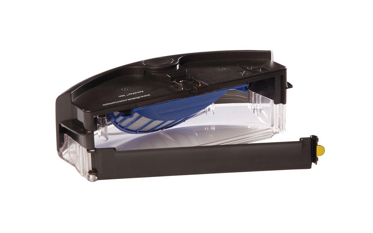ASP ROBOT Depósito de filtros AEROVAC para iRobot Roomba 630 Serie 600. Recambio ORIGINAL CAJÓN DE RESIDUOS CAJA repuesto compatible para aspirador irobot ...