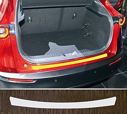 Avisa 2//35466 Protezione paraurti Posteriore in Acciaio Inox Mazda CX-30 2019-Ribs
