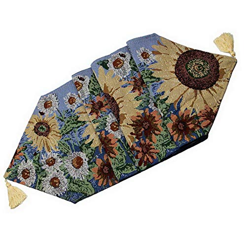 Hemau Sunflowers Table Runner Sunny Floral 13