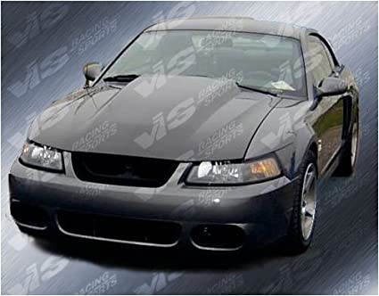 Amazon Com Vis 94 98 Ford Mustang Fiberglass Hood Cowl Induction