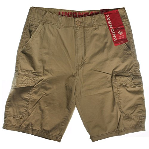 UNIONBAY Cargo Shorts for Men (32, Grain)
