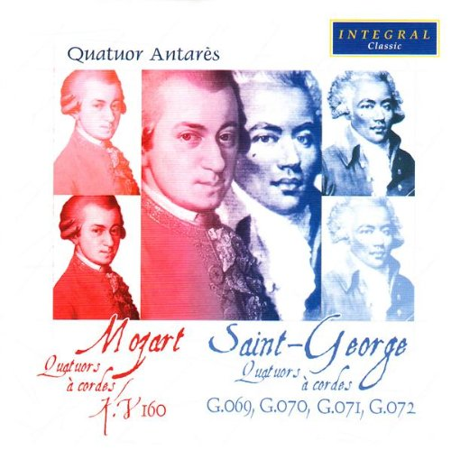 Price comparison product image Saint George / Mozart: String Quartets