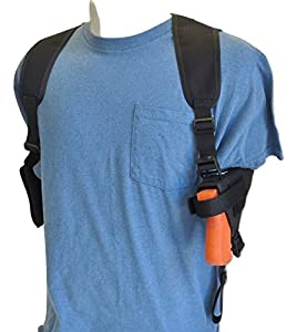 Federal Shoulder Holster for Ruger LC9, LC9s, EC9s & LC380 Pistols with Double Magazine Pouch