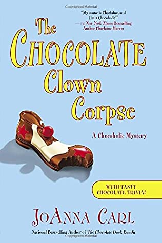 book cover of The Chocolate Clown Corpse