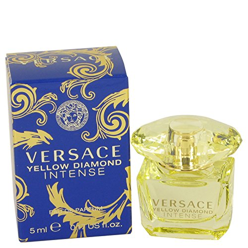 Women Edp Splash Mini (Versace Yellow Diamond Intense 0.17 oz / 5 ml EDP SPLASH WOMEN NEW IN BOX MINI)