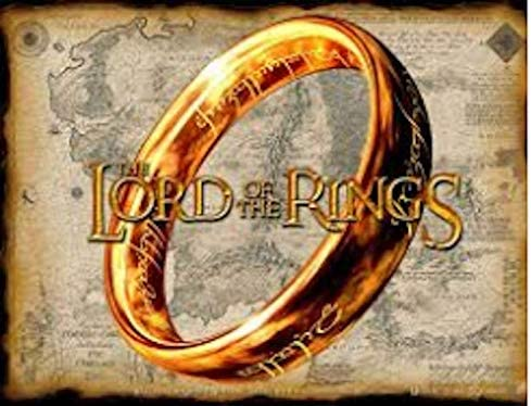 Lord of the Rings Tungsten Ring 6 mm