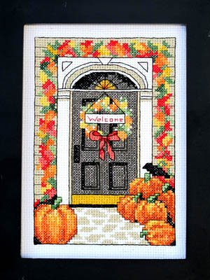 (Welcome Autumn Cross Stitch Chart and Free)