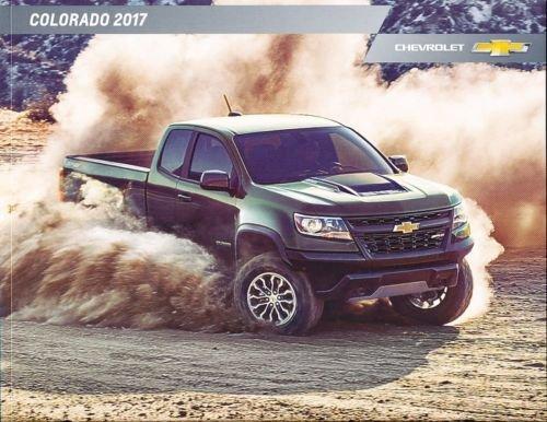 2017 Chevrolet Colorado Pickup Truck 40-page Car Sales Brochure Catalog Z71 ZR2