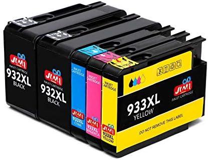 JIMIGO 932XL 933XL Cartuchos de Tinta Reemplazo para HP 932 933 ...