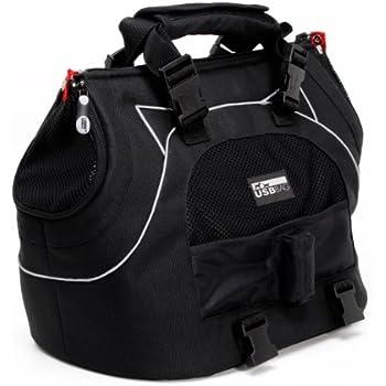 Petego Universal Sport Bag Plus Pet Carrier, Black Label