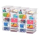 IRIS USA, Inc. CNL-5 Storage Box, 5 Quart, Clear, 20 Pack: more info
