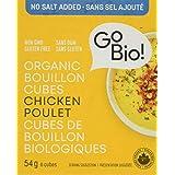 GoBIO! Organic Chicken Cubes - No Salt Added, 54 Grams