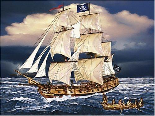 Pirate Ship Jigsaw - Pirate Ship Jigsaw Puzzle 300 Pieces