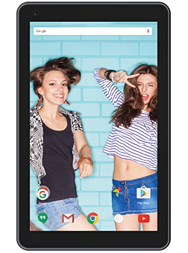 """Polaroid 9"""" Quad Core Tablet Android 6.0 Marshmallow Google Play, 1GB RAM, 8GB Storage, Front Camera, Wi-Fi & Bluetooth Enabled"""