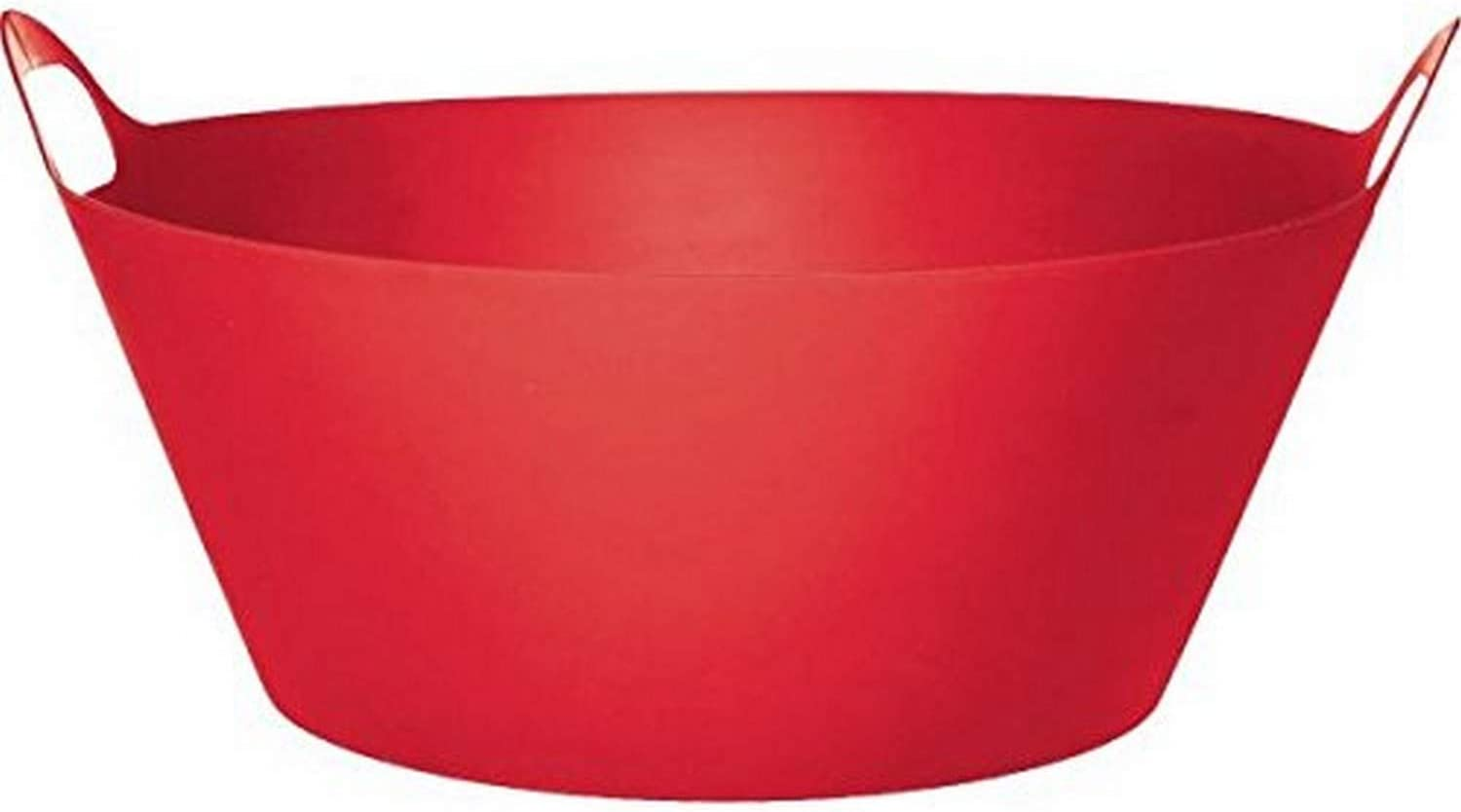 Grasslands Road Red Plastic Party Drink Chiller, 1 Piece, Made from Plastic, Red, 20