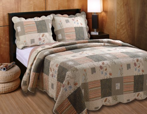 Greenland Trading Sedona Full/Queen 3-Piece Quilt Set