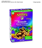 Annie's Friends Bunny Grahams, Honey/Chocolate/Chocolate Chip, Graham Snacks, 7 oz Box (Pack of 6)