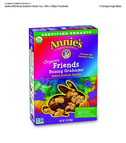 - Annie's Homegrown Bunny Graham Friends (Honey, Chocolate & Chocolate Chip), 7-Ounce