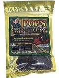 Pop's Famous Gourmet Beef Jerky - Premium Beef (3 Oz Bag) (Jalapeno Hottie)