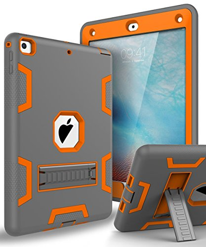 The New iPad 2017,iPad 9.7 Case,Topsky Three Layer Armor Def