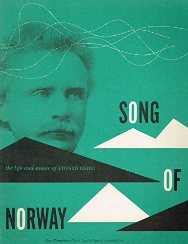 SONG OF NORWAY orig 1950's souvenir program signed by 50+ including JOHN TYRES, JEAN FENN, SIG ARNO, WALTER KINGSFORD