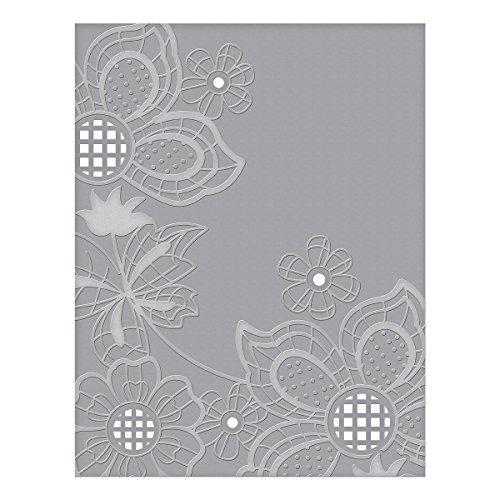 Spellbinders CEF-005 Floret Cluster Cut and Emboss Folder