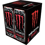 Monster Energy, Assault, 473mL cans, Pack of 4