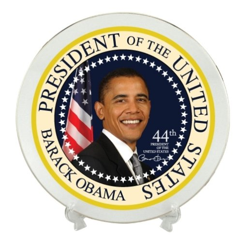 Obama Commemorative Plate by DM