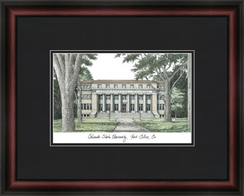 NCAA Colorado State Rams Academic Framed (University Academic Framed Lithograph)