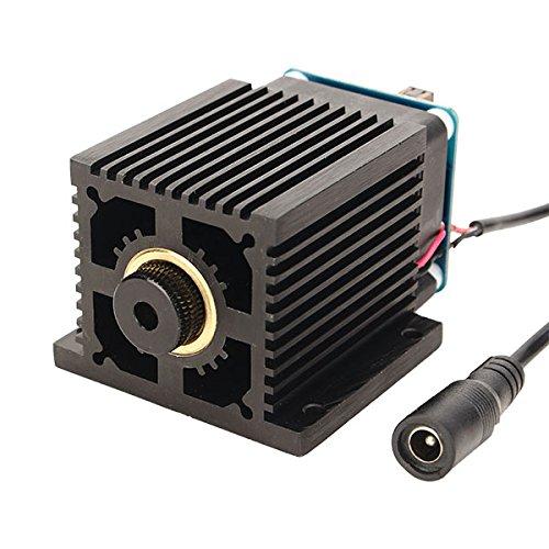 LEEPRA 445nm 5500mW Blue Laser Module With Heat Sink for DIY Laser Engraver Machine