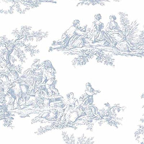 Kitchen Norwall (Blue & White Toile)