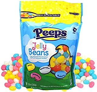 product image for Peeps Marshmallow and Fruit Flavored Easter Jelly Beans, 10 Ounce