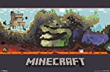 Trends International Unframed Poster Prints, Minecraft World Picture